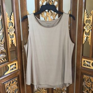 Charter Club Golden Tan Tank Size L